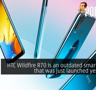 HTC Wildfire R70 is an outdated smartphone that was just launched yesterday 38