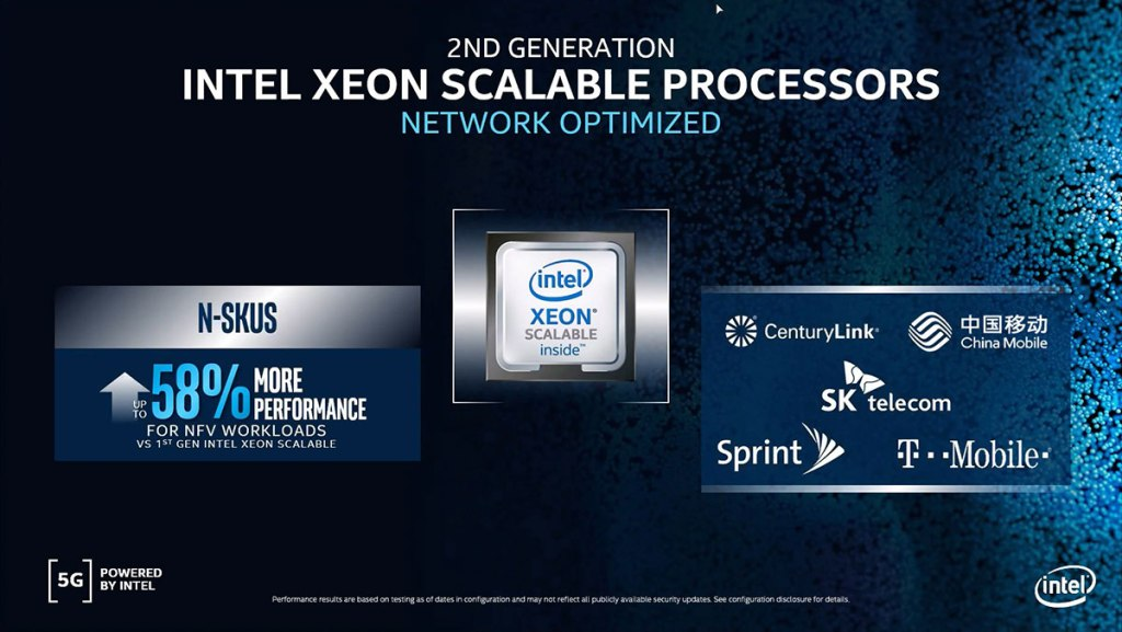 Intel announces latest members of their 5G infrastructure portfolio 24