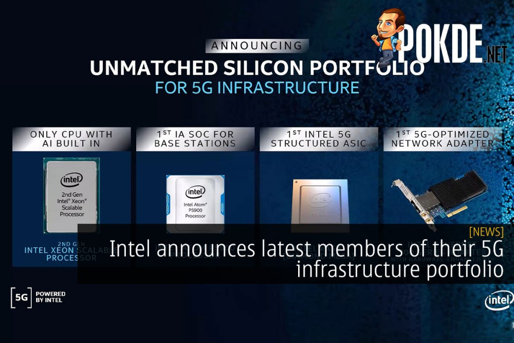Intel announces latest members of their 5G infrastructure portfolio 22
