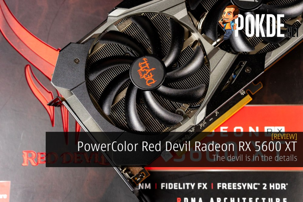 PowerColor Red Devil Radeon RX 5600 XT Review — the devil is in the details 22