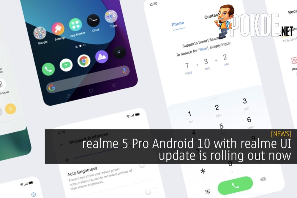realme 5 Pro Android 10 with realme UI update rolling out now 22
