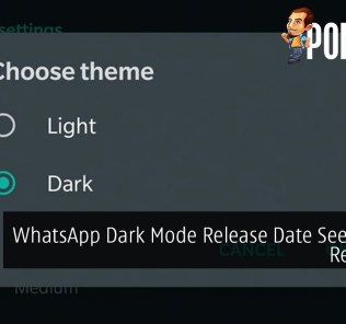 WhatsApp Dark Mode Release Date Seemingly Revealed