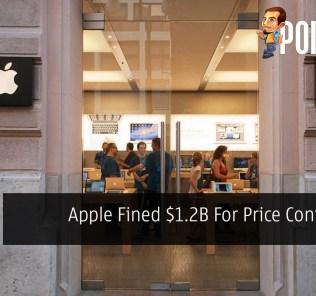 Apple Fined $1.2B For Price Controlling 36