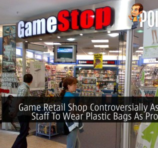 Game Retail Shop Controversially Ask Their Staff To Wear Plastic Bags As Protection 37