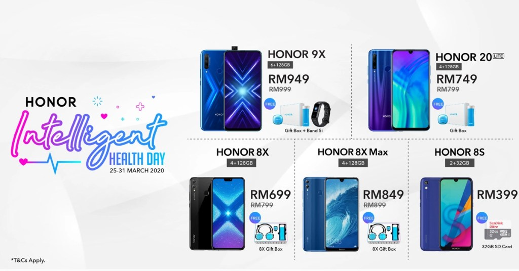 HONOR Malaysia Brings In Intelligent Health Deals On Hihonor 24