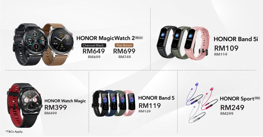 HONOR Malaysia Brings In Intelligent Health Deals On Hihonor 35