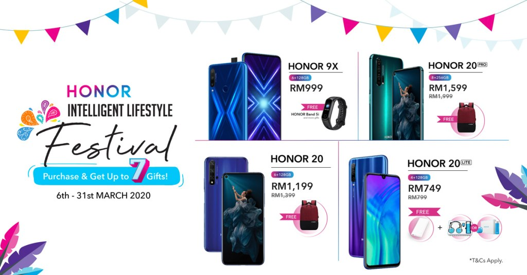 HONOR Intelligent Lifestyle Festival Promo To Run From 6 To 31 March 2020 19