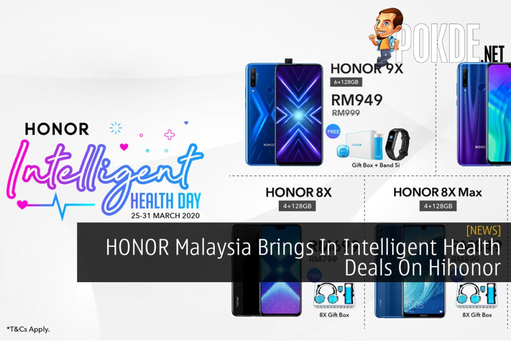 HONOR Malaysia Brings In Intelligent Health Deals On Hihonor 32