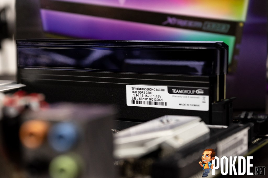 TEAMGROUP T-Force Xtreem ARGB DDR4-3600 CL14 Memory Review — beautiful form and function 39