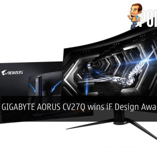 GIGABYTE AORUS CV27Q wins iF Design Award 2020 26