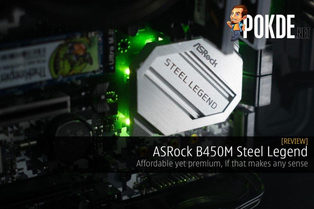 ASRock B450M Steel Legend Review — affordable yet premium, if that makes any sense 34