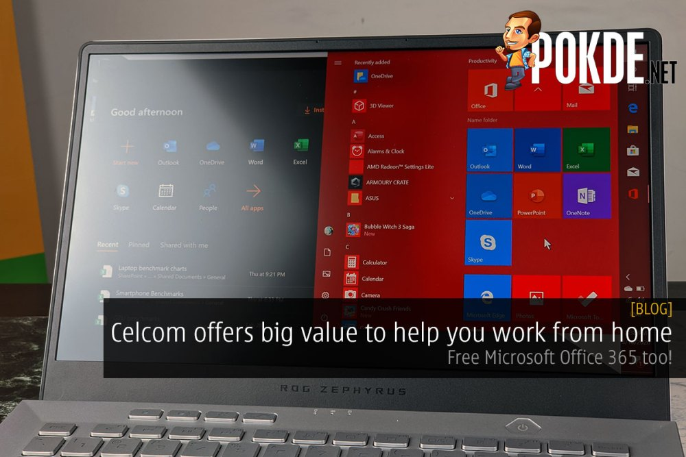 Celcom offers big value to help you work from home — Free Microsoft Office 365 too! 22