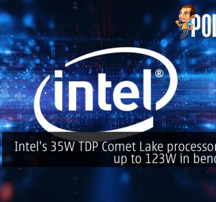Intel's 35W TDP Comet Lake processor draws up to 123W in benchmark 28