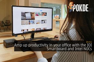 Amp up productivity in your office with the JOI Smartboard and Intel NUCs 24