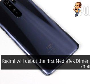 Redmi will debut the first MediaTek Dimensity 800 smartphone 26