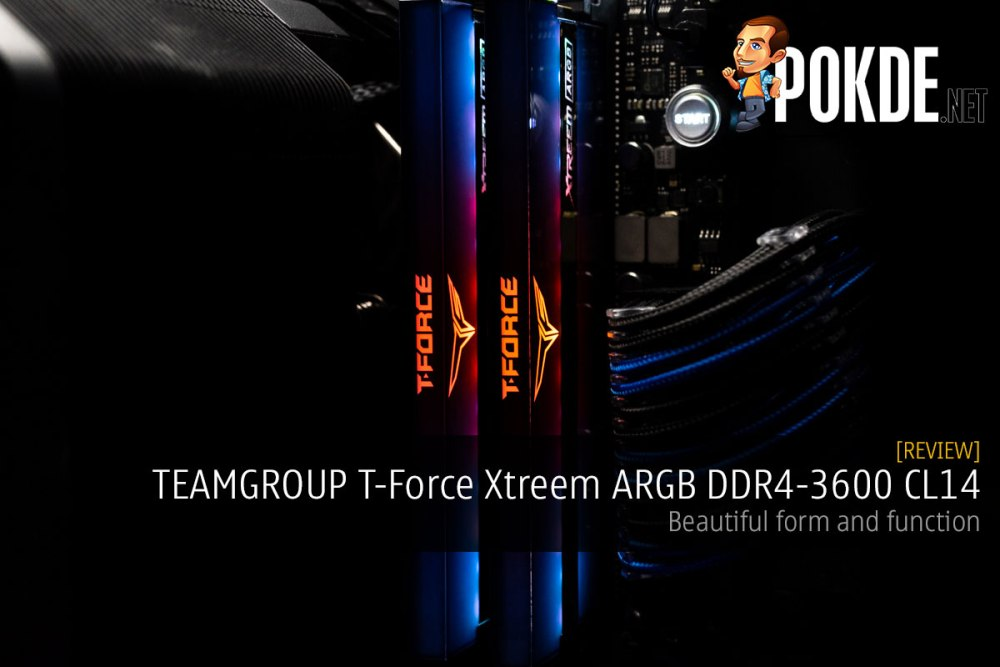 TEAMGROUP T-Force Xtreem ARGB DDR4-3600 CL14 Memory Review — beautiful form and function 34
