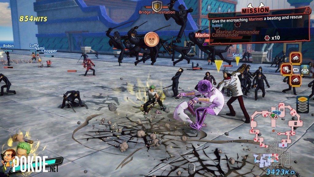 One Piece Pirate Warriors 4 Review - Fun for Fans But Still Repetitive 28