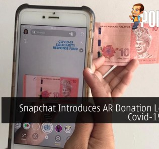Snapchat Introduces AR Donation Lens For Covid-19 Relief 35