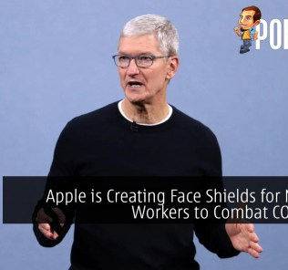 Apple is Creating Face Shields for Medical Workers to Combat COVID-19