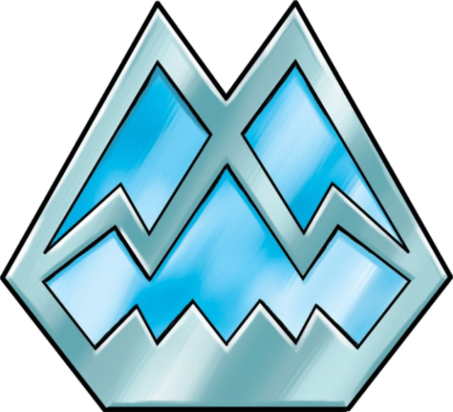 Icicle Badge
