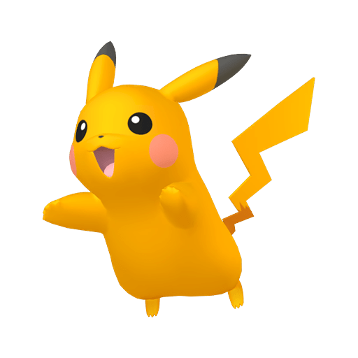 Pikachu Mâle Chromatique