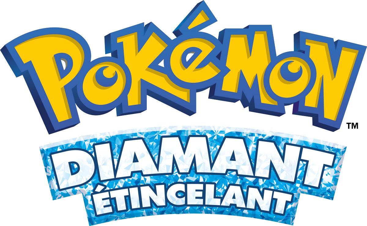 Logo de Pokémon Diamant Étincelant