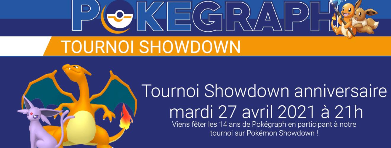 Tournoi Showdown anniversaire Pokégraph