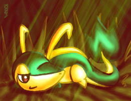 Smugleaf - Snivy by Crescent-31