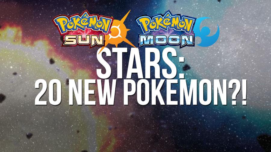 RUMOR: 20 New Pokémon Added for Pokémon Stars