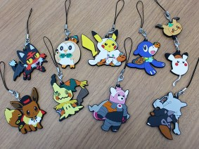 Halloween 2017 Rubber Keychains - coming to Pokémon Centers September 2nd!