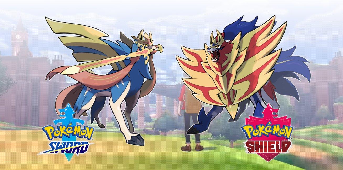 Pokémon Sword & Shield legendary Pokémon