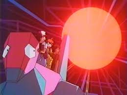 "Screenshot from Pokémon anime episode ""Electric Soldier Porygon"""