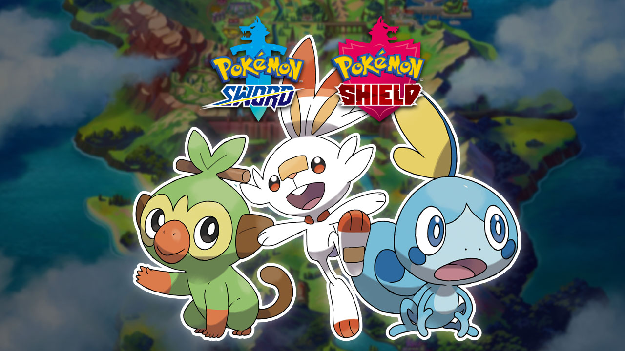Starting Pokémon of Galar