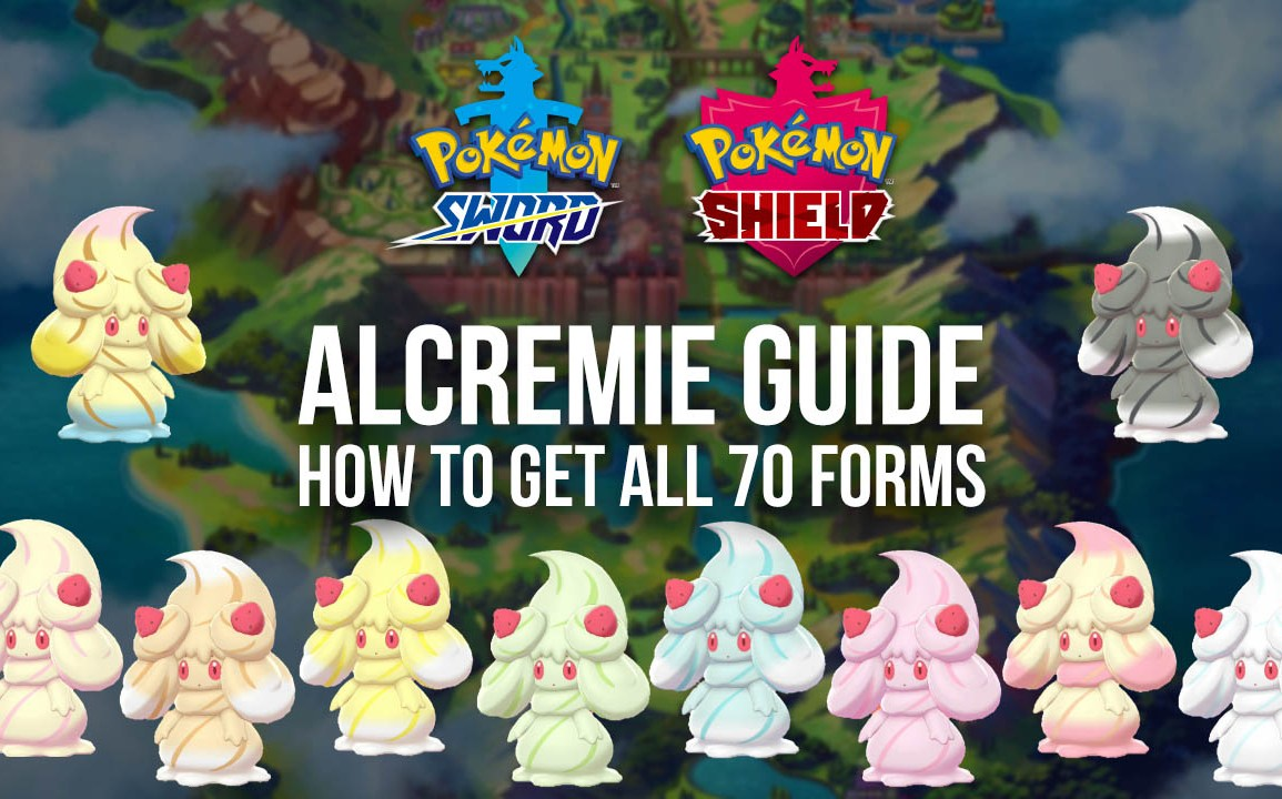 Milcery evolution guide for all Alcremie forms