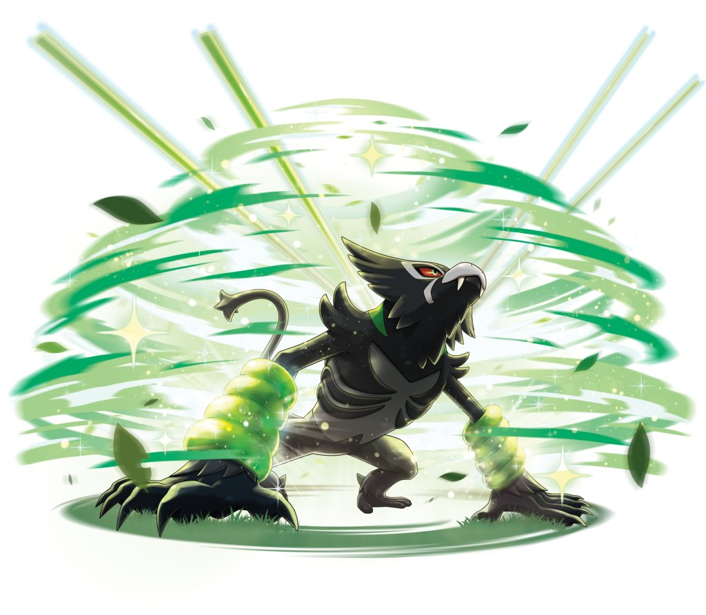 Art for Zarude's signature move Jungle Healing