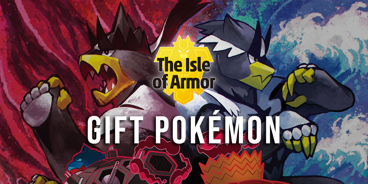 Gift Pokémon in the Isle of Armor