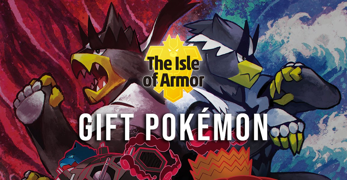 Gift Pokémon in the Isle of Armor
