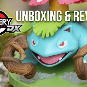 Pokémon Gallery Figure DX: Venusaur Unboxing & Review