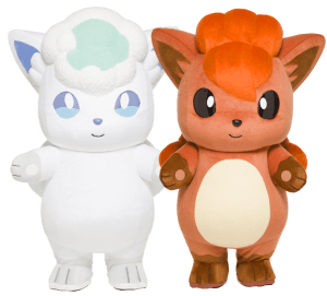 Pokémon Local Acts mascots