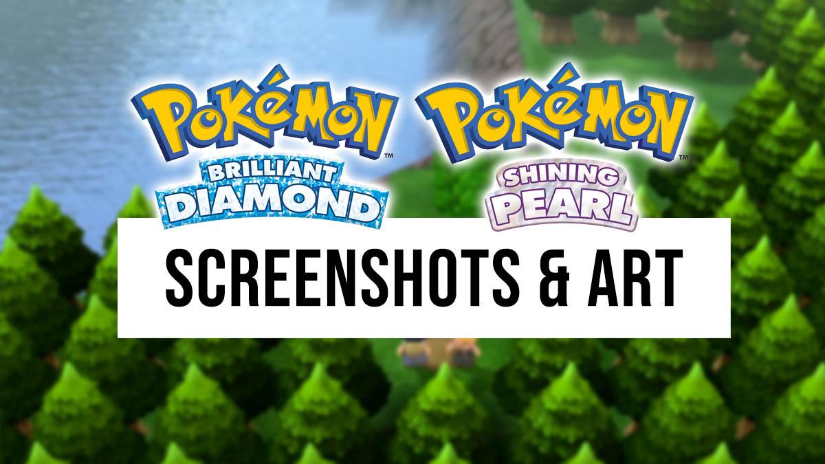 Pokémon Brilliant Diamond & Shining Pearl screenshots and art