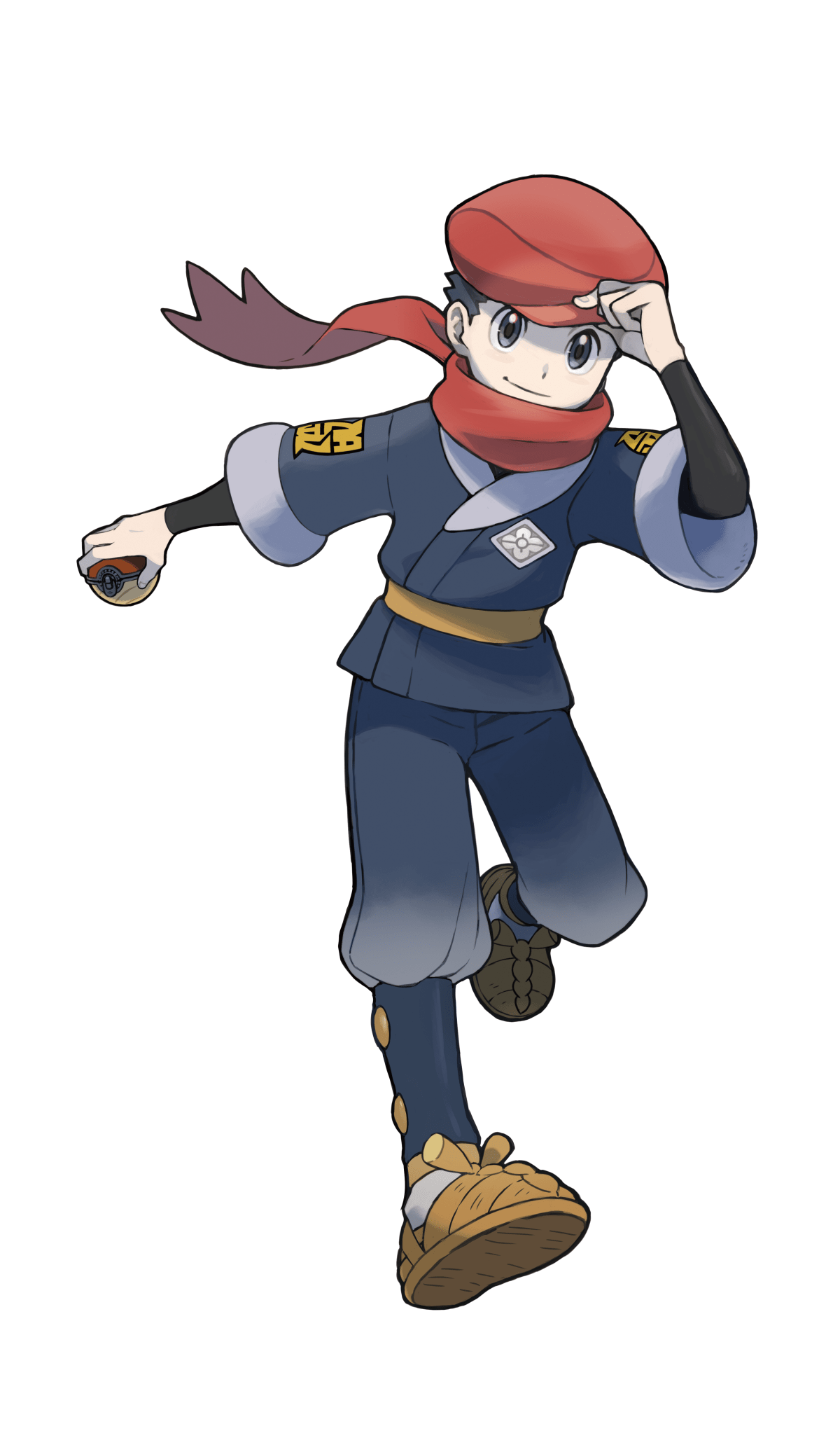 Pokémon Legends: Arceus male protagonist