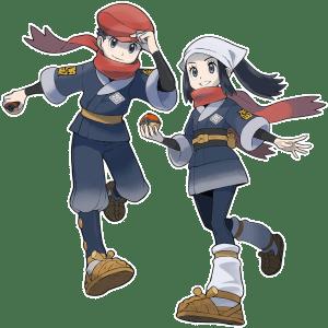 Pokémon Legends: Arceus protagonists