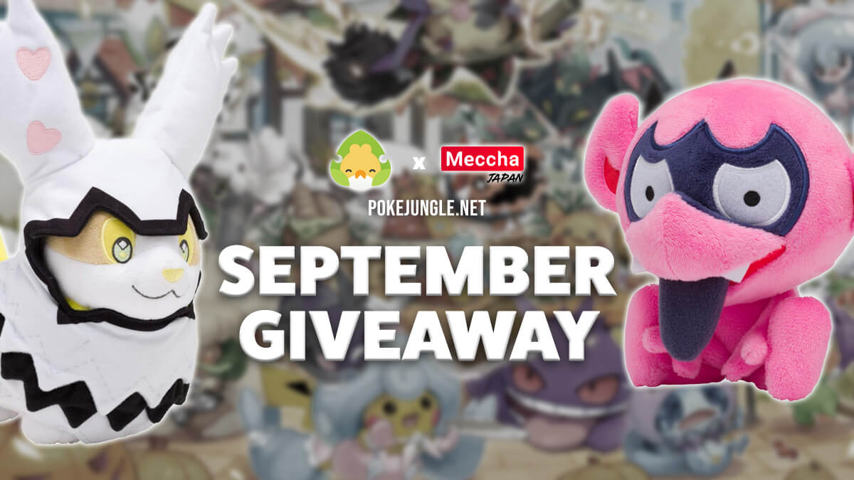 Giveaway for Yamper and Impidimp plushies