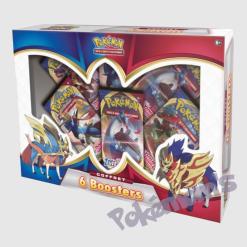 Coffret 6 boosters Pokemon - Pokemoms