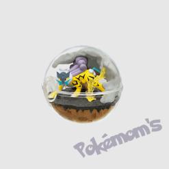 Terrarium Raikou Collection 7 - Pokemoms
