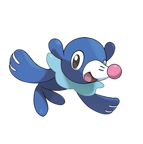 Popplio Pokémon Ultrasol y Ultraluna
