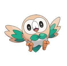 Rowlet Pokémon Ultrasol y Ultraluna