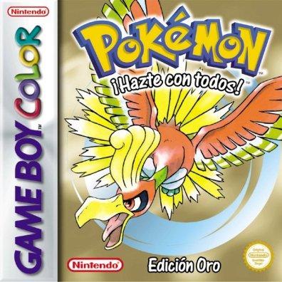 Cáratula Pokémon Oro
