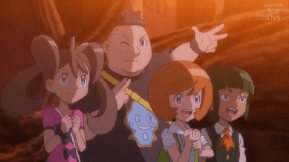 Kalos We Are With You Pokemon XYZ EP. 40 Resistance Group