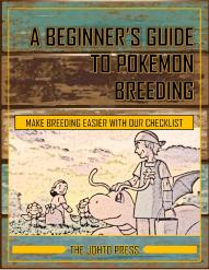 Beginner's Guide To Pokemon Breeding Cover